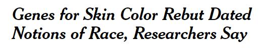 Headline for NYT